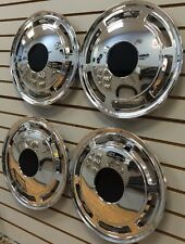 "NEW 1985-1996 CHEVROLET CAPRICE Police Taxi Car 15"" Hubcaps WHEELCOVERS SET of 4"