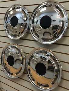 """NEW 1985-1996 CHEVROLET CAPRICE Police Taxi Car 15"""" Hubcaps WHEELCOVERS SET of 4"""