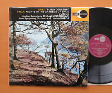 ECS 514 Grieg Piano Concerto Falla Nights Gardens of Spain Curzon NM/EX Decca