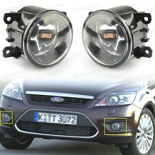 2Pcs Front Fog Lights Driving Lamp w/ H11 Bulbs for Ford Focus 2009 2010 2011