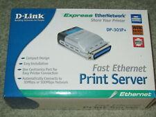 D-Link Fast Ethernet Print Server DP-301P+