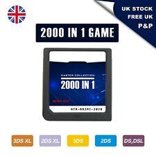 DS Game 2000 in 1 Nintendo Cartridge Game Card for 3DSXL 2DSXL DS Pokemon Mario
