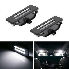 White Error Free LED Vanity Front Mirror Lights For BMW E60 E61 E90 E91 E92 E70