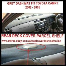 GREY DASH MAT + REAR DECK COVER(REAR GREY MAT ) FIT TOYOTA CAMRY 2002 - 2005,