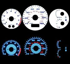 00-05 Celica GTS Blue Indiglo Glow White Gauges 00 01 02 03 04 05
