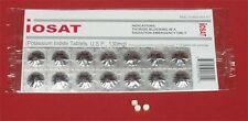 IOSAT Potassium Iodide Radiation Blocking Tablets 130 mg
