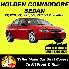 Car Seat Covers HOLDEN COMMODORE VT - VZ Front & Rear 1997-2006 Airbag Safe!