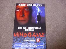 MINDGAME  Simon WARD & Christopher BLAKE  Original  VAUDEVILLE Theatre Poster