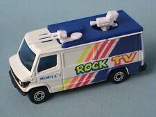Matchbox Mercedes TV News Van Rock TV