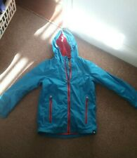 Regatta Great Outdoors Blue & Orange Water repellant hooded Jacket Age 9-10 5000