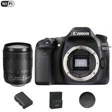 Canon 80 D / 80D DSLR Camera + 18-135mm f3.5-5.6 IS NANO USM Lens