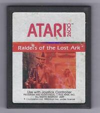 ATARI 2600 Raiders Of The Lost Ark vintage game Cart