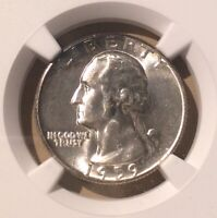USA 1959 25 Cents NGC MS 63 - Silver - Washington Quarter