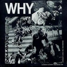 Discharge Why CD+Bonus Tracks NEW SEALED 2007 Punk Decontrol/Realities Of War+