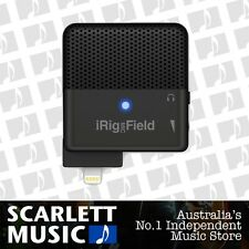 iK Multimedia iRig Mic Field Microphone for iOS Devices *BRAND NEW*