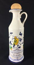 Italian Folk Art Bird Fatta Mano Olio Extravergine Di Oliva Oil Bottle Pitcher