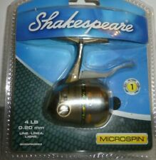 Shakespeare Microspin 4 lb 0.20mm ball bearing fishing reel New