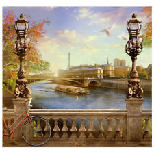 PARIS BRIDGE Photo Backdrop CARDBOARD CUTOUT Standup Standee Background Poster