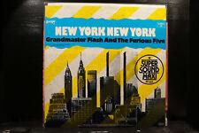 "Grandmaster Flash and the Furious Five-New York New York 12"""