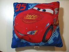 "11"" x 11"" plush Disney Cars pillow, good condition"