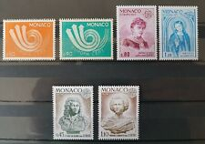 Monaco Europa Ausgaben 1973, 1974 und 1975 3 komplette Sätze postfrisch **