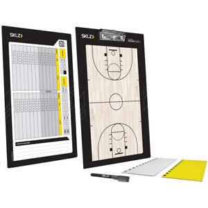 SKLZ Basketball Magna Coach Board - Black/Yellow