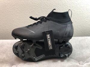 Nike Jr Mercurial Superfly 6 VI Elite FG Soccer Cleats Size 6Y Black AH7340-001