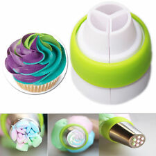 Nozzle Coupler Icing Piping Nozzles Converter Adapter 3 Hole Plastic Cake Decor