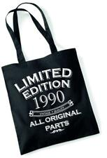 30th Birthday Gift Bag Tote Mum Shopping Limited Edition 1990 All Original Parts