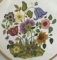 Meadowland- an crewel embroidery kit