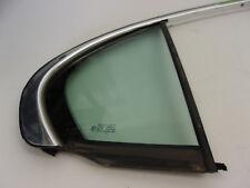Jaguar X-Type 2001 to 2008 Right Rear Quarter Glass Black Finish C2S24710