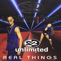 2 Unlimited Real things (1994) [CD]