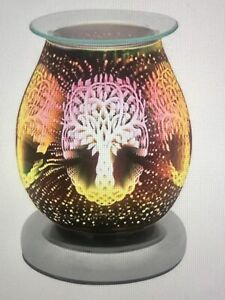 LEONARDO 3D Desire Tree Of Life Aroma Touch Lamp/Oil/Wax Melt Electric Burner
