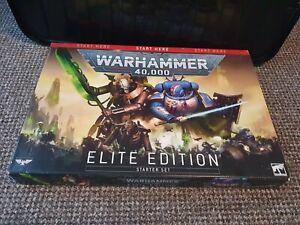 Warhammer 40K - Elite Edition Starter Set - Primaris Space Marines/ Necrons- New