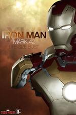 SIDESHOW IRON MAN MARK 42 life-size bust 1/1 Stark Marvel Avengers