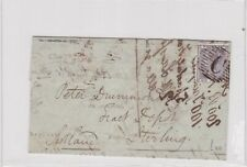 British Post Office in Constantinople 1858 entire to Scotland