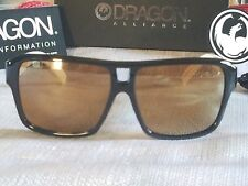 ea1dc4602ee NEW DRAGON THE JAM SUNGLASSES JET WHITE   GOLD ION ( 720-1873 )
