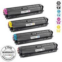 4 Set 307A BLACK COLOR Toner Cartridge for HP Laserjet Pro CP5225 CP5225n CP5225
