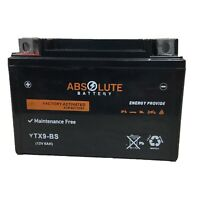 New YTX9-BS Replacement Battery For YUASA YUAM329BS ETX9 GTX9-BS CTX9-BS PTX9-BS