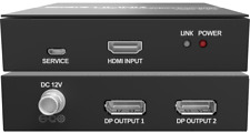 HDMI 2.0 to DisplayPort 1.2a 4K60 4:4:4 converter support HDCP 1.4 / 2.2 PS4 PRO