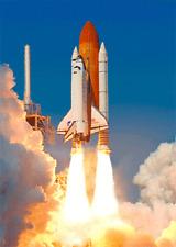 3D Lenticular Postcard - Space Shuttle Endeavour  - Greeting Card