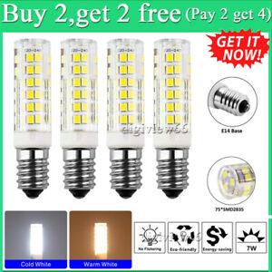 (Pay 2 get 4)E14 7W LED Light Bulb Lamp Kitchen Range Hood Chimmey Fridge Cooker