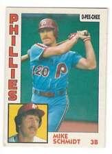 MIKE SCHMIDT 1984 O-Pee-Chee #361 Phillies  HOF ID:1295