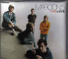 Maroon 5-This Love Promo cd single