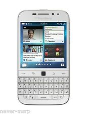 BlackBerry Classic Q20 SQC100-1 White (FACTORY UNLOCKED) 3.5 inch , 16GB