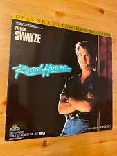 Road House Laserdisc - Deluxe Letter Box Edition - Patrick Swayze