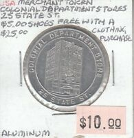 USA Merchant Token - Colonial Department Stores