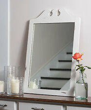 Distressed White Mirror by Portage Bay!