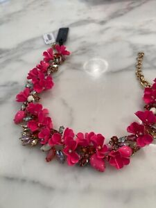 jcrew statement necklace  brand new