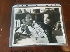 Richard Roundtree 1987 Signed 8x10 Movie Still from 1971 Shaft Autograph